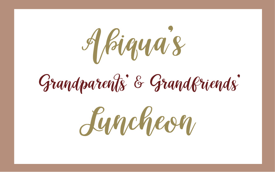 Grandparents and Grandfriends Day